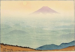 チャールズ・バートレット「精進湖より見たる富士」.jpg